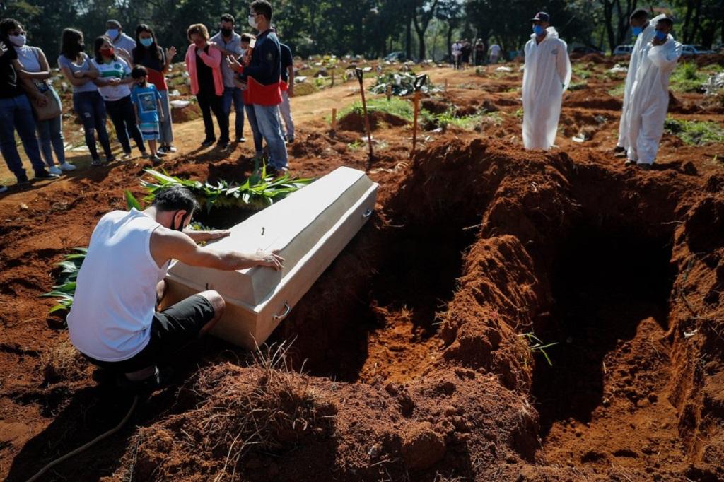 Brasil registró 82.266 muertes por COVID-19 en abril