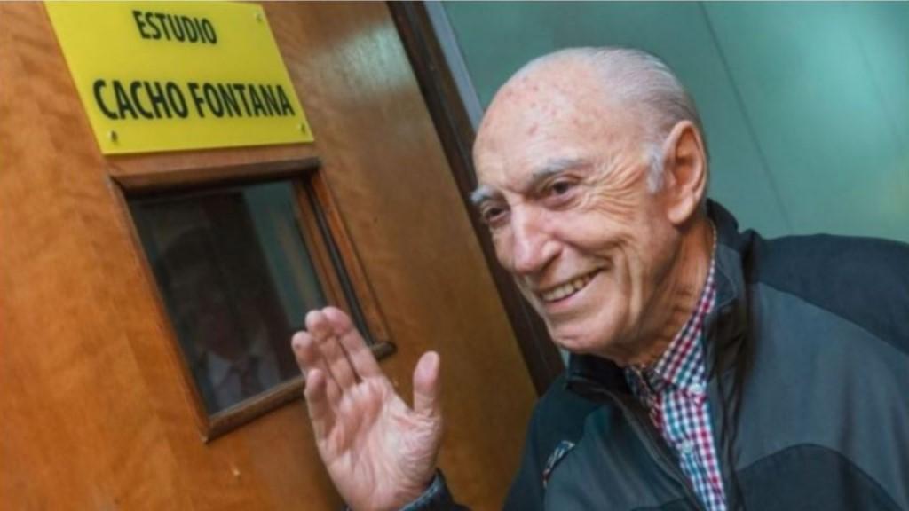 Cacho Fontana festeja sus 89 años.