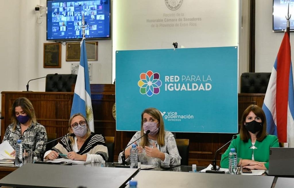 Laura Stratta participó del intercambio de aportes sobre el Nuevo Régimen de Protección, Asistencia y Prevención de la Violencia de Género