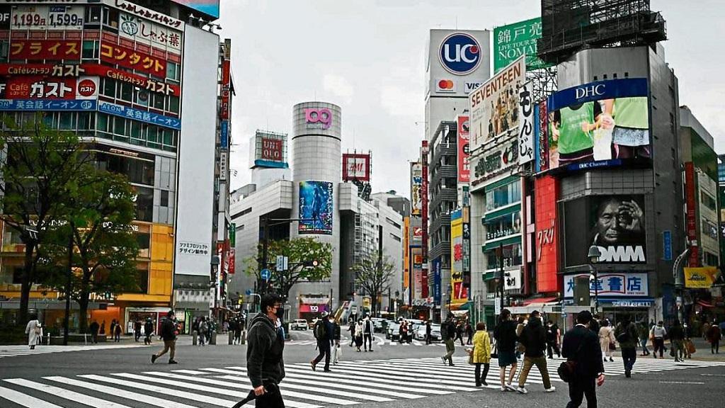 Japón, en estado de emergencia por la pandemia.