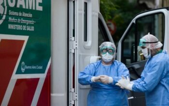 Coronavirus en Argentina tuvo un record de muertes 561