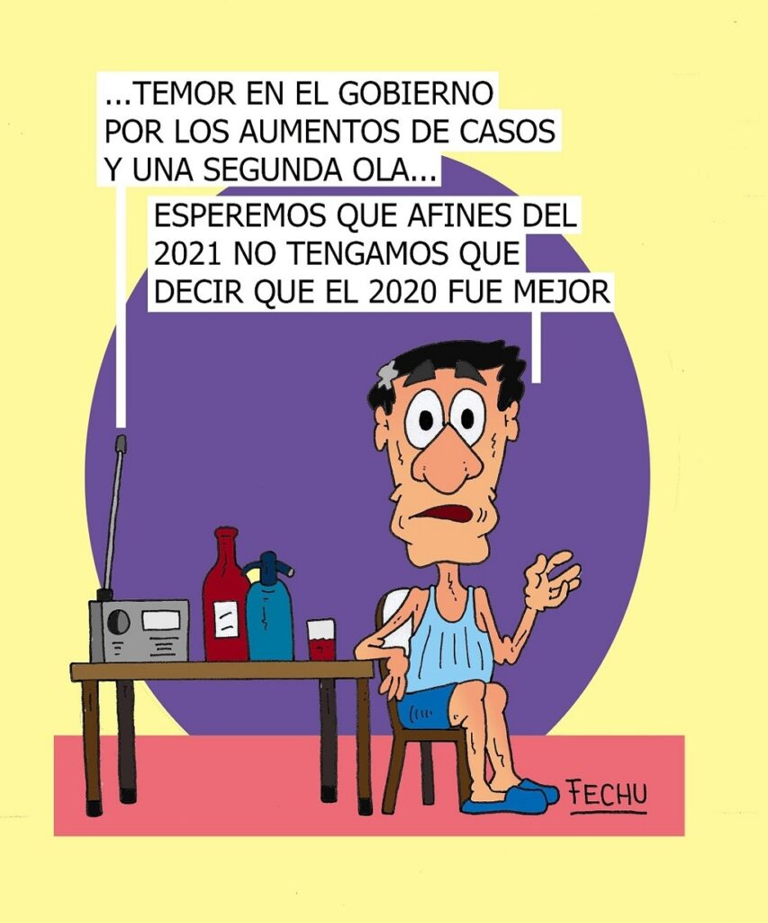 Humor de Fechu en Villa Mantero Noticias no sabemos
